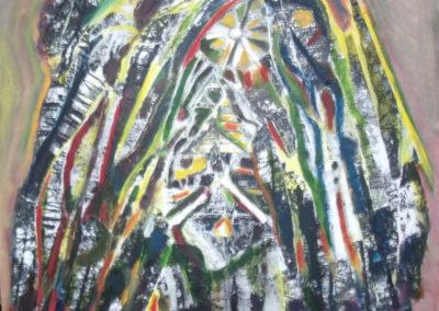 Bostempel2016_collage_olieverf_op_doek_70x70cm